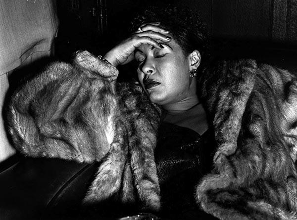 Billie Holiday, 1954, Charles Hewitt. Photo: Charles Hewitt/Getty Images.