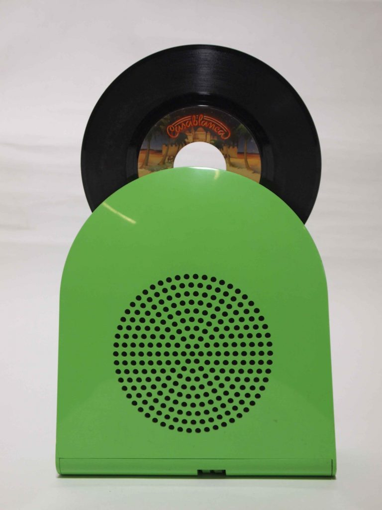Minerva Pop GA45 Portable Record Player, Mario Bellini, Italy, 1968