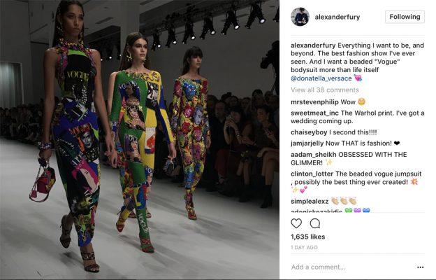 Alexander Fury Instagram