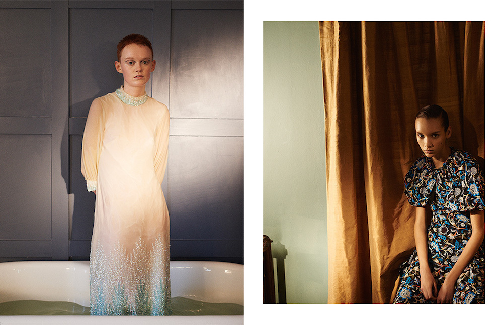 LCF alumna and Make-up Artist Crystabel Riley. Photography by Alexander Meininger.