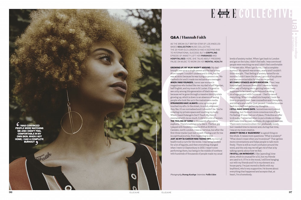 The Collective LCF x ELLE Reclaiming Mental Health.