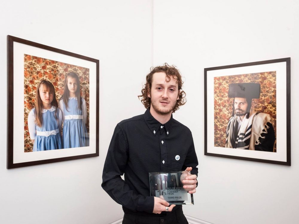 Third Prize winner Kovi Konowiecki with his portraits Tilly and Itty Beitar Illit, and Shimi Beitar Illit, from the series Bei Mir Bistu Shein Photography © Jorge Herrera