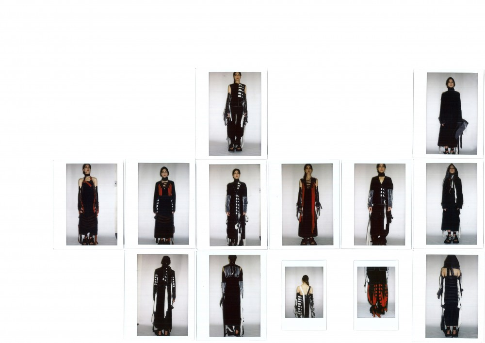BA (Hons) Fashion Design and Development student Andrew Ko. Photographer: James Rees, Creative Direction: Rob Phillips, Hair: Ezana Ové, Beauty: Kirsty Gaston.