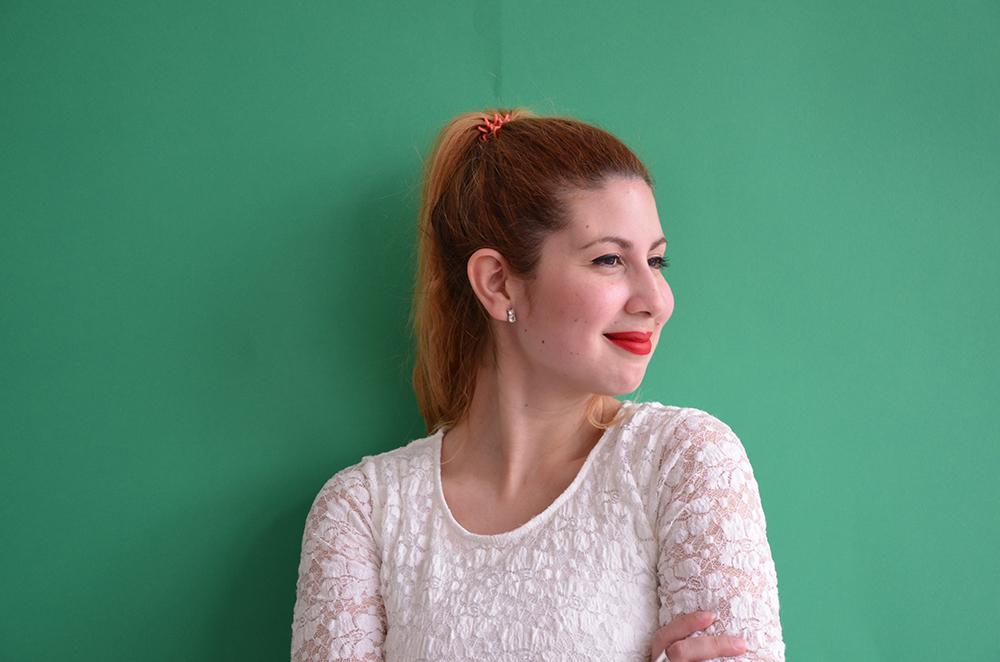 MA Fashion Journalism student Valentina Egoavil Medina