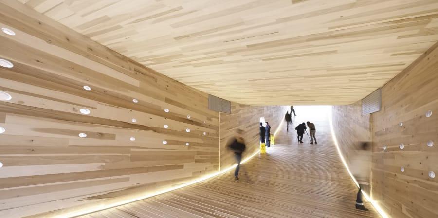 Architectural tunnel.