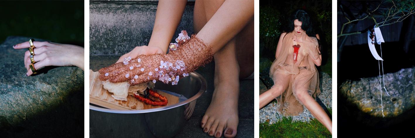 Selene Zhang, Year 3 BA Fashion Jewellery