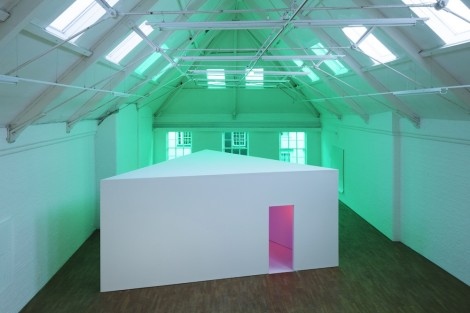To enable me to fix my attention on any one of these symbols I was to imagine that I was looking at the colours as I might see them on a moving picture screen., Installation view, Modern Art Oxford. (Photography: Andy Stagg, 2014)