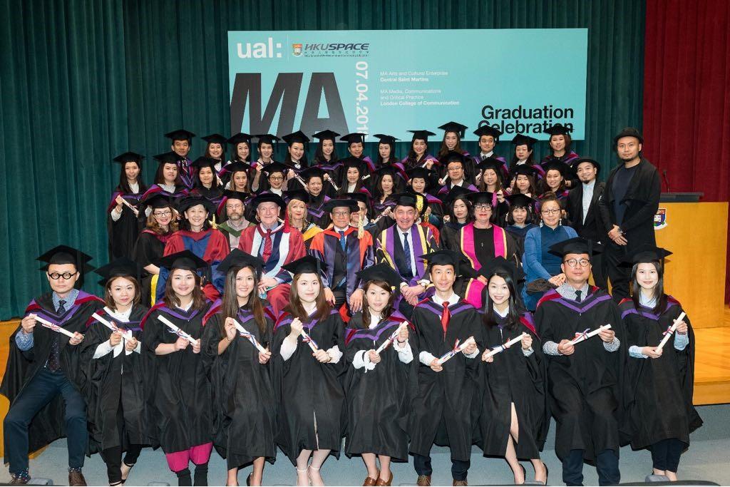 HKU UAL MA students graduation Hong Kong 2018