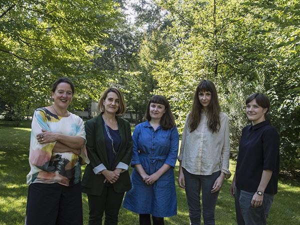 Max Mara Art Prize for Women  Tania Kovats, Ana Génoves, Ruth Ewan, Phoebe Unwin, Emma Hart. Photo - Gabriele Micalizzi Cesura. Courtesy Collezione Maramotti