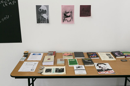 Bonnie Camplin, The Military Industrial Complex, South London Gallery, 13 - 15 June 2015 Photography by Ollie Hammick the Artist Cabinet London and South London Gallery
