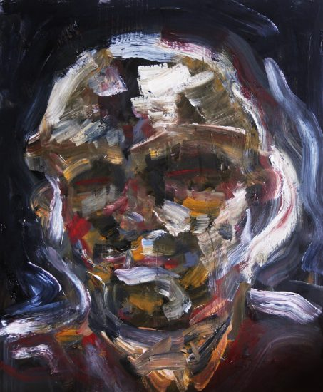 Painting work by Ryan Tennant