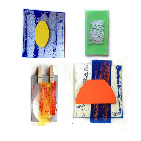 Colour project sample development by Hannah Miles