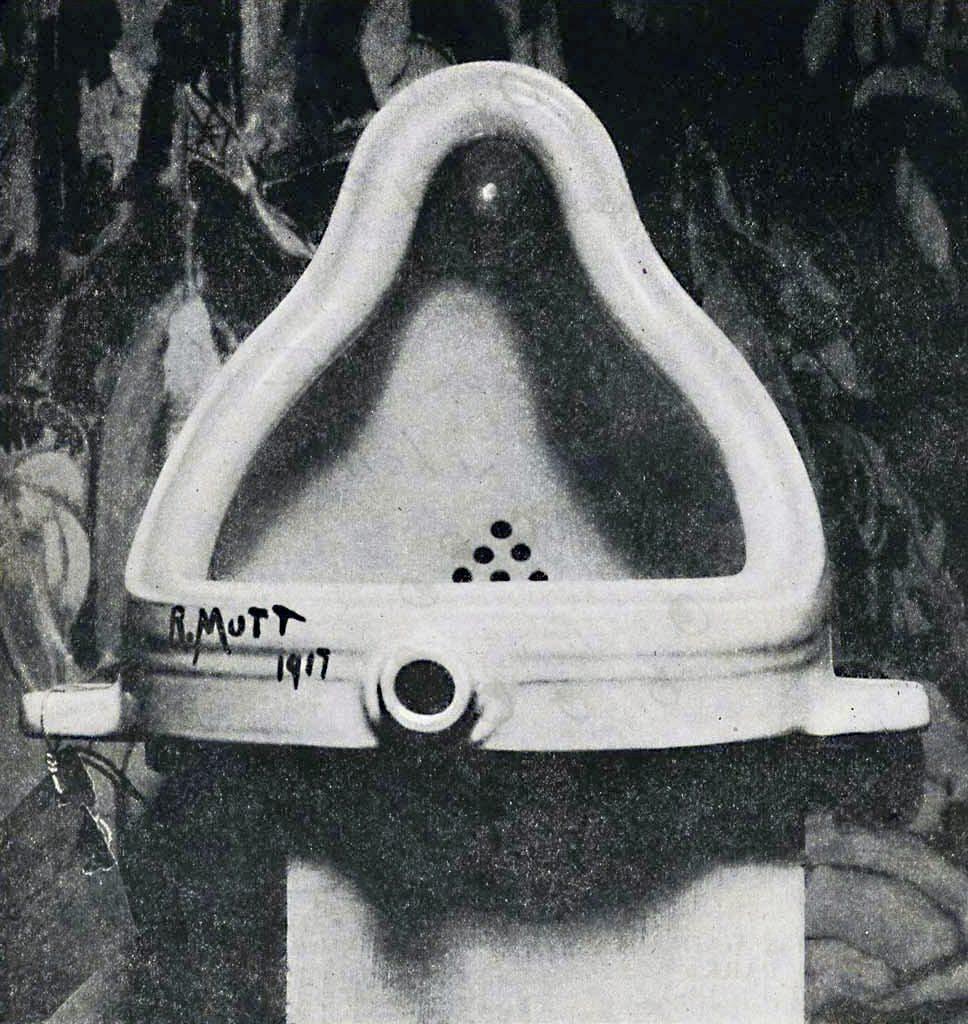 Fountain, Marcel Duchamp