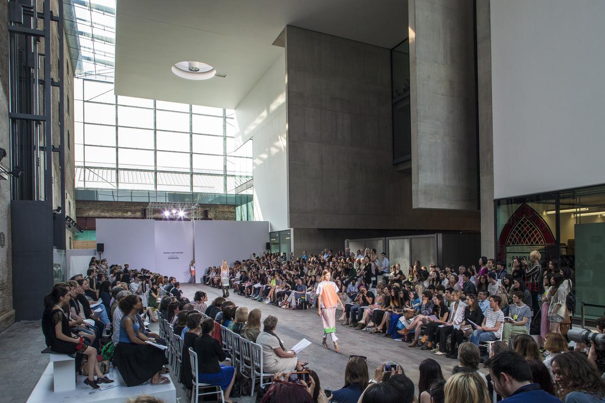Central Saint Martins BA Fashion show 2012