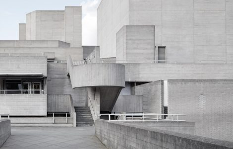 Sir Denys Lasdun - Royal National Theatre, London