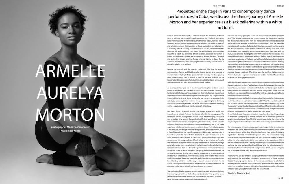 Armelle Aurelya Morton | THE OTHER MAGAZINE