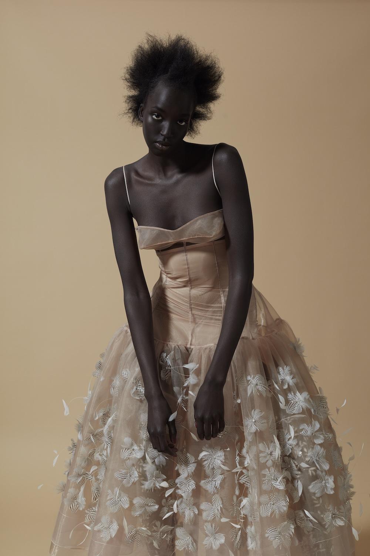 MA Womenswear Design Technology graduate Dmitry Gotsfrid. Photographer Alyssa Boni and Stylist Adele Cany.