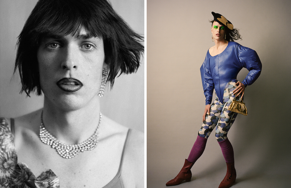 LCF alumna and Make-up Artist Crystabel Riley. Photography by Ben Toms.