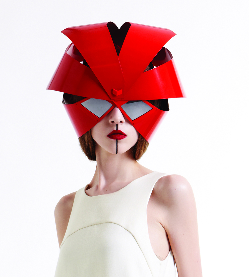 Work from MA Fashion Artefact alumna Viktrija Agne collection for LCFMA15.
