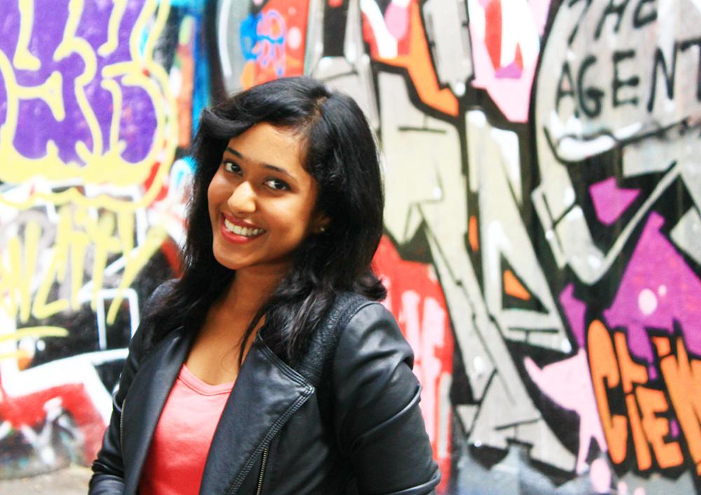 MA Entrepreneurship and Innovation student Sneha Adichazhi Valappil.