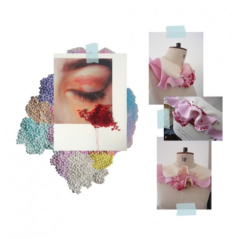 Mina Jugovic, BA (Hons) Fashion Design Realisation part-time