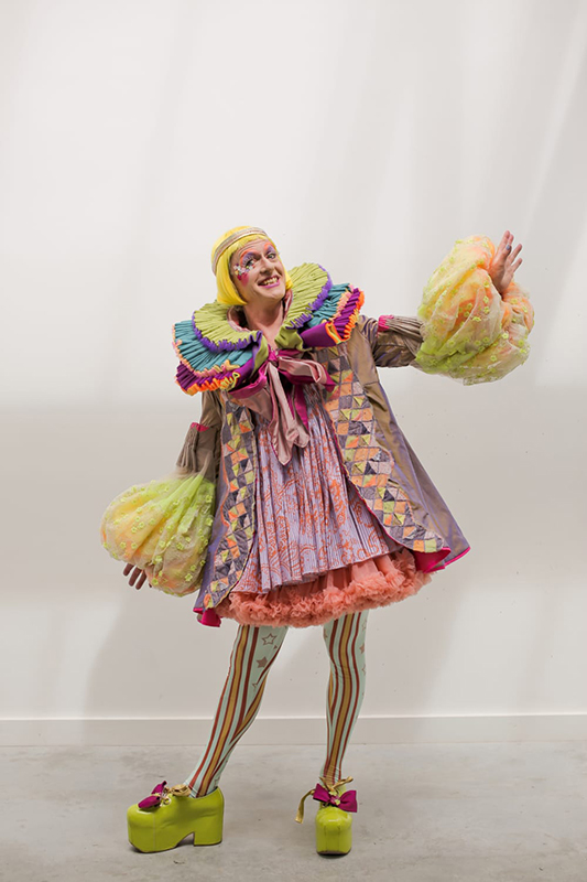 Ma Costume Design For Performance Student Designs Grayson Perry S Graduation Robe London College Of Fashion