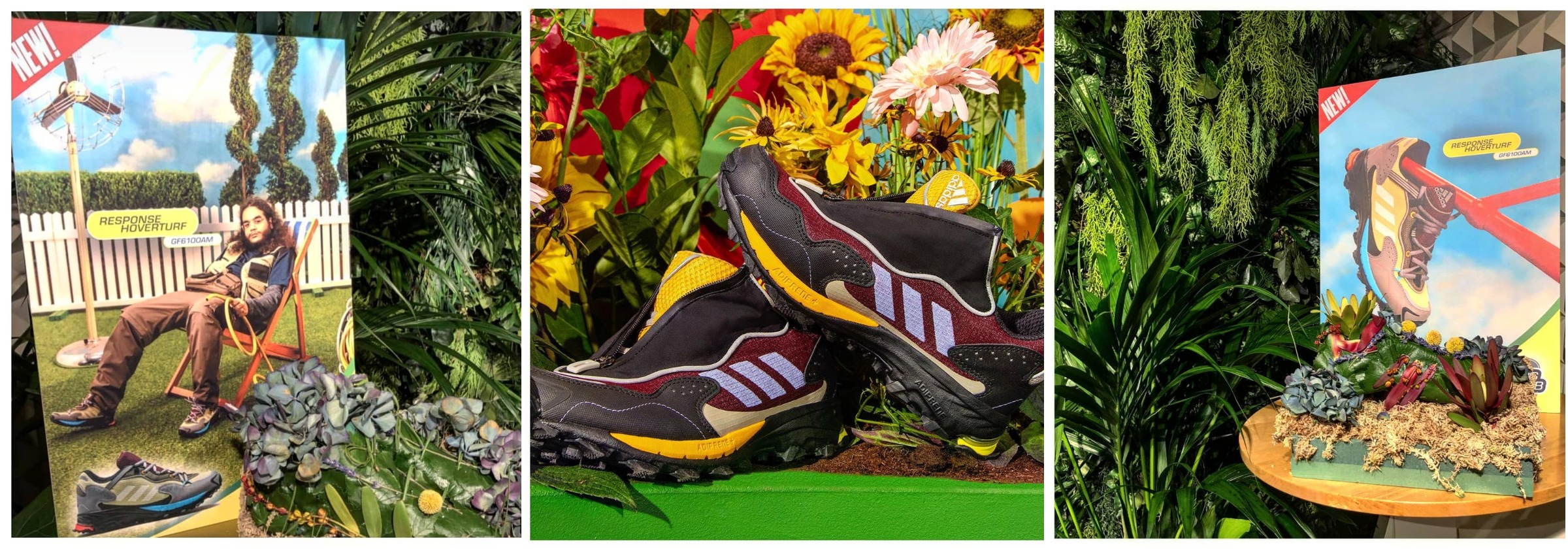 pictures of campaign for gardening shoes