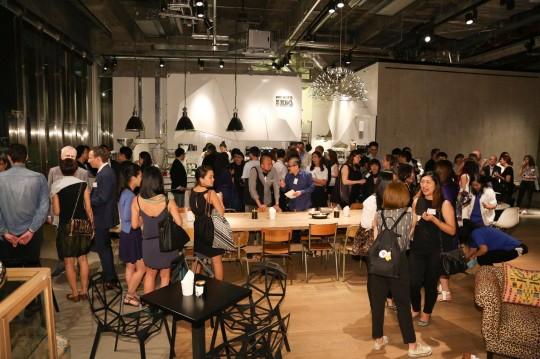 Guests at the UAL Hong Kong Alumni Reception 2015