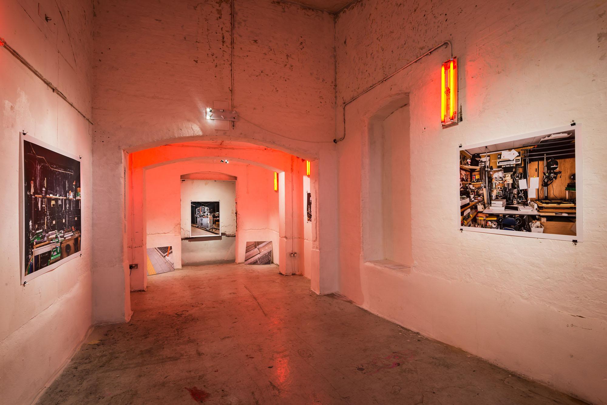 The morgue space exhibition