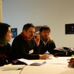 Brainstorming session between our design teams and guest scientists.