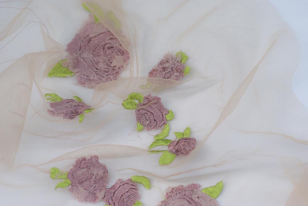 BA (Hons) Fashion Textiles: Embroidery graduate Carmen Manzano.