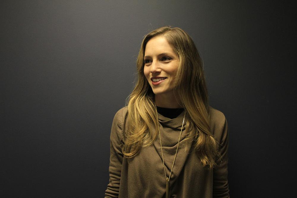 MA Fashion Entrepreneurship and Innovation student Irene-Marie Seelig.