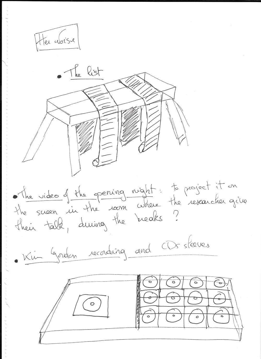Sketch by Maxime Laparade