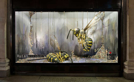 Selfridges Window - Bright Young Things 2011 - Rhea Thierstein - Photography Andrew Meredith