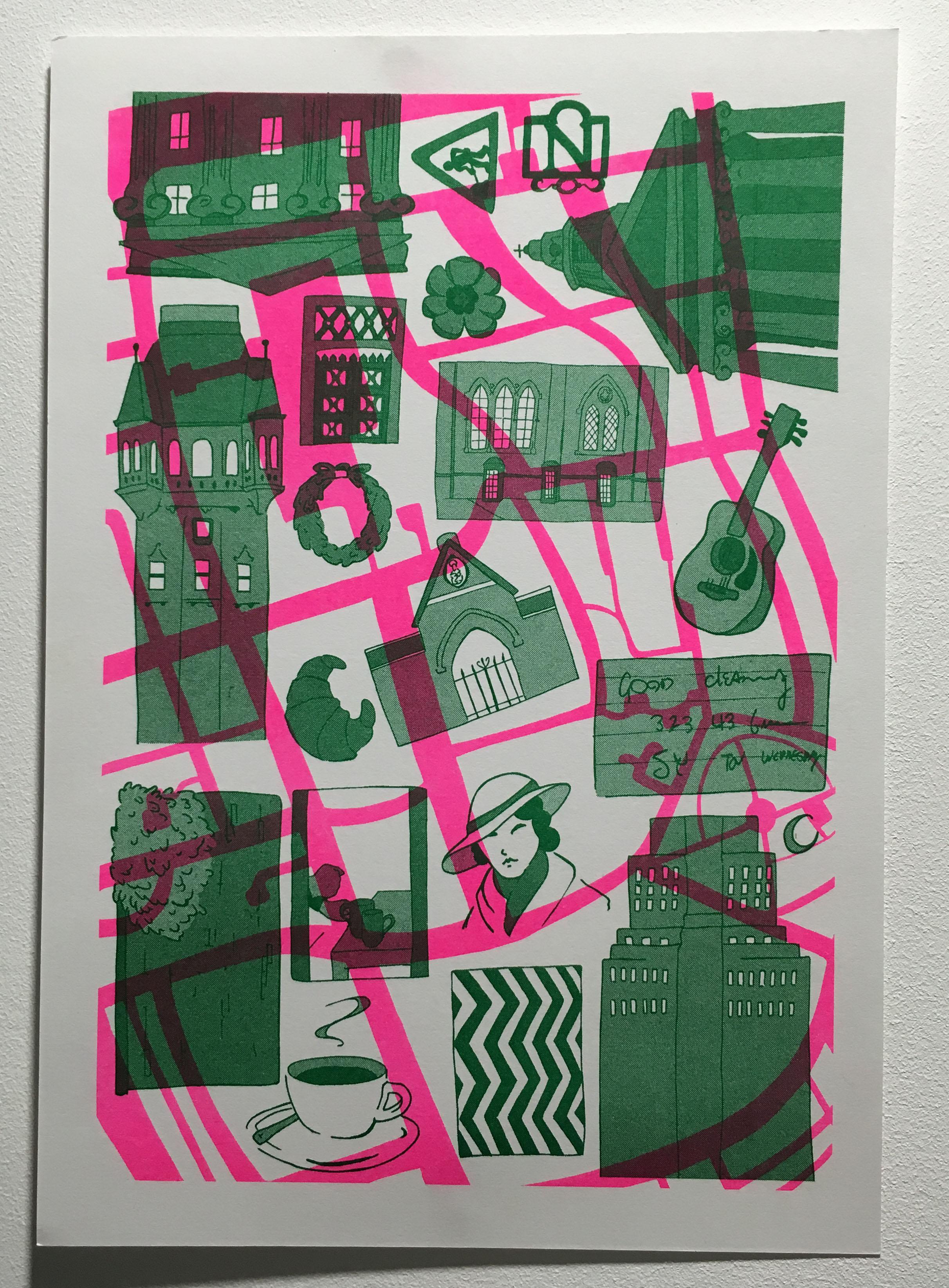 'Bloomsbury', final piece by Rafael Zugliani
