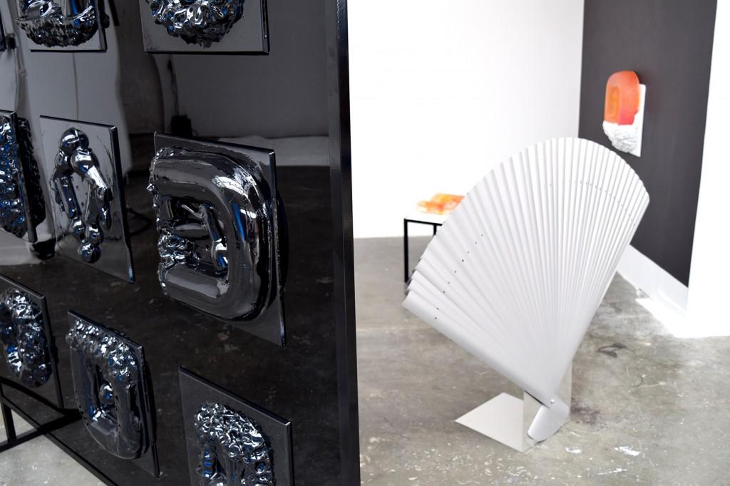 Emma Marks (BA Sculpture 2015) 'Screen-cast-Fan'