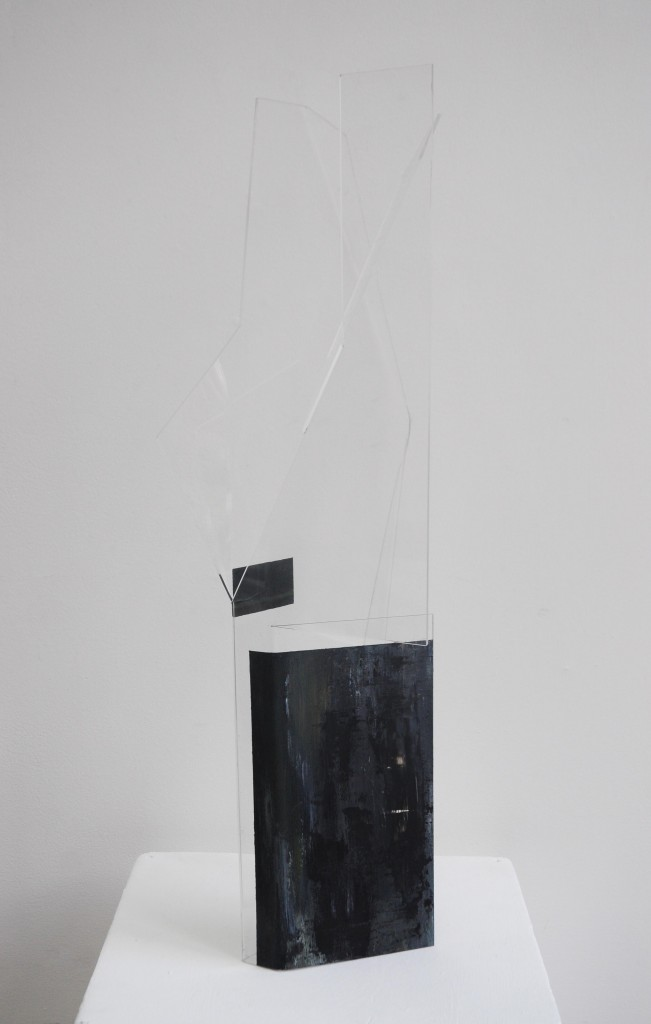 Photograph of Kin Ting Li Sculpture - a deconstruction of 3-dimensional space.