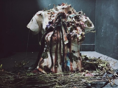 MA Fine Art student Camille Bonanza's piece for the One Day exhibition.