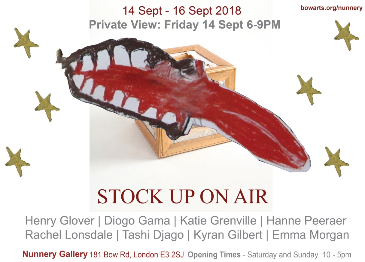 The poster for 'STOCK UP ON AIR'