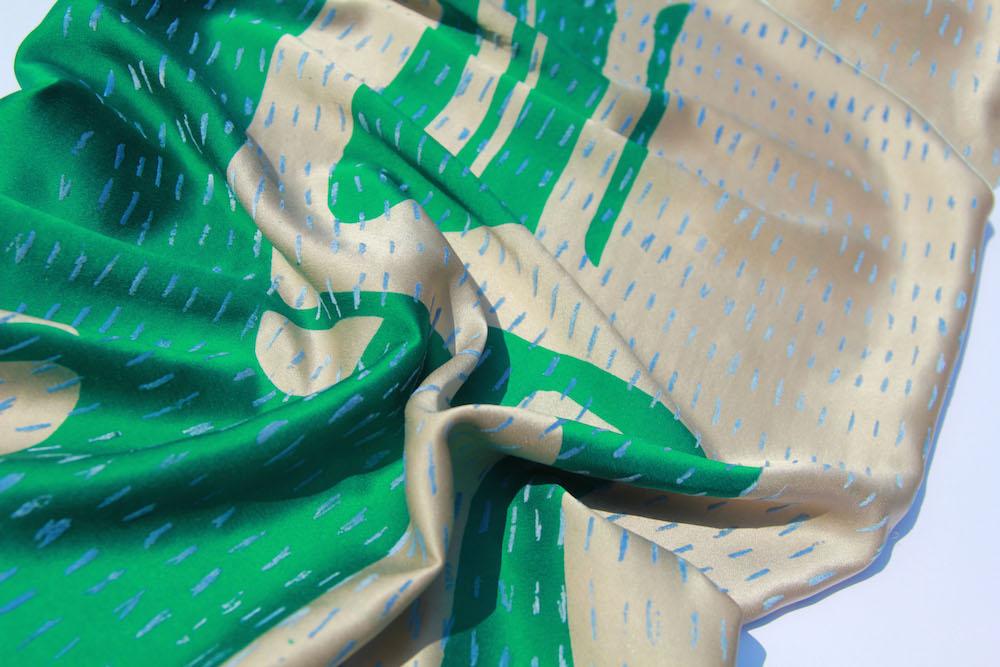 BA (Hons) Fashion Textiles Print graduateMarianna Koulianou for LCFBA18.