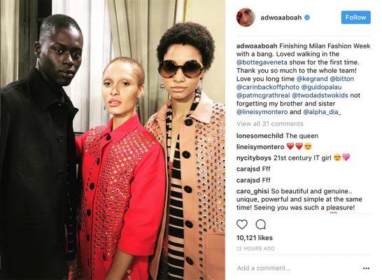 Adwoa Aboah Instagram