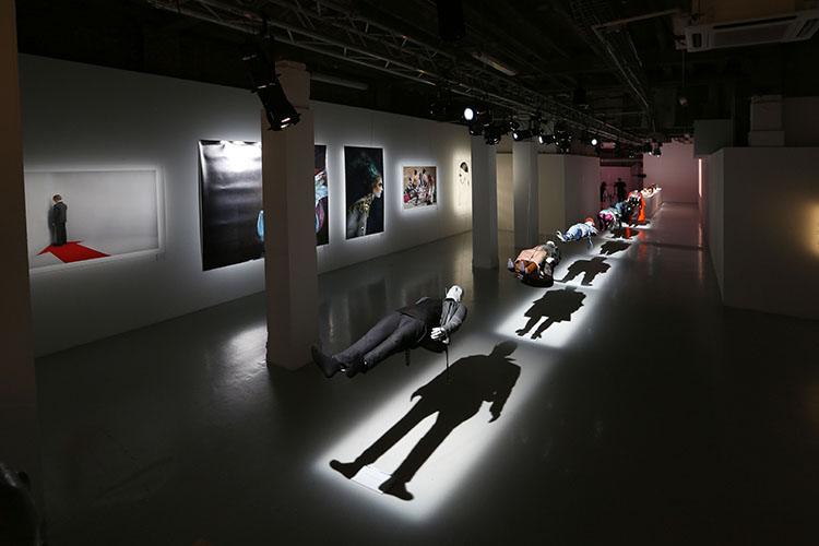 Student Exhibition at the Fashion Matters Gala. Photography: Alex Mcguire