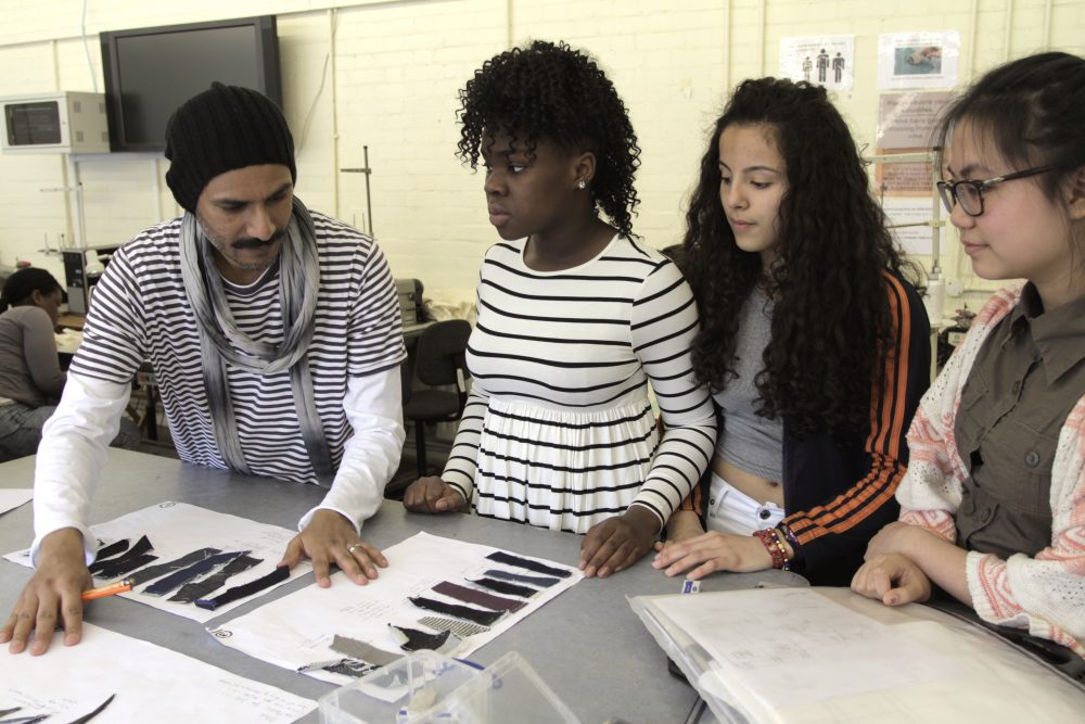 London College Of Fashion Run Secondary School Outreach Programme London College Of Fashion