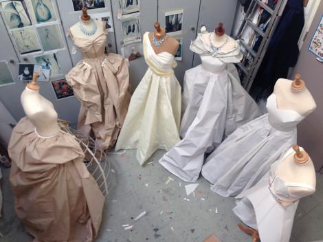 Behind the scenes at Rhea Thierstein's studio. Photo courtesy of Rhea Thierstein.