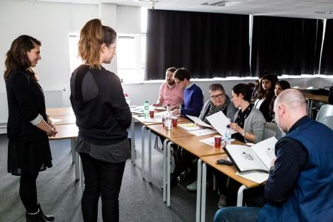 two students panel feedback