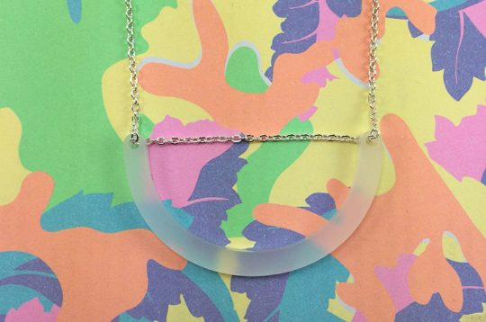Designs that make you smile Rose Thomas Frost Smile Necklace