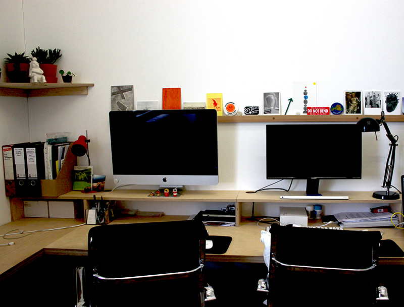 work-form's working space at their studios in Peckham