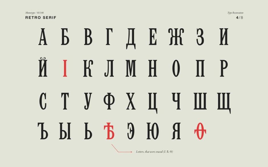 Polina Hohonova, Retro Serif, D&AD Awards 2016.