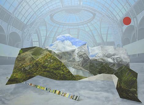 Exposition 2011, oil on linen by James Pimperton.