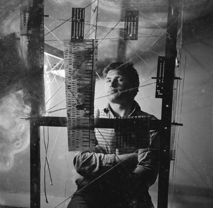 Eduardo Paolozzi, Nigel Henderson c.1950s © Nigel Henderson Estate
